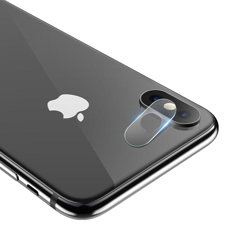 Hoco ochranné sklo pre fotoaparát Apple iPhone X/XS
