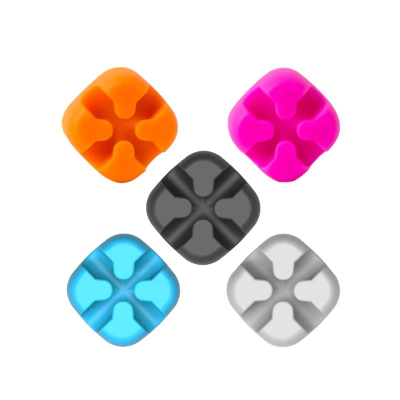 Silikónový organizér káblov Orico- farebný