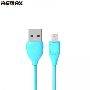 Remax LESU RC-050m kábel Micro USB 2A 100cm modrý