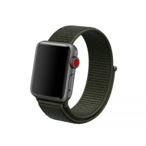 Remienok Apple Watch Nylon Cargo Khaki