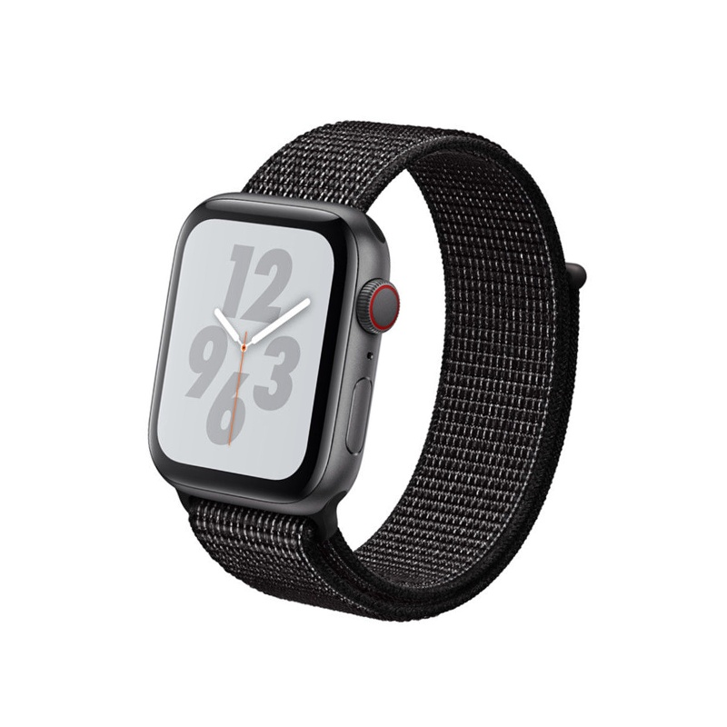Remienok Apple Watch Nylon Flash Black