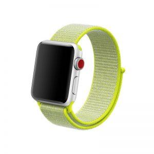 Remienok Apple Watch Nylon Flash Light