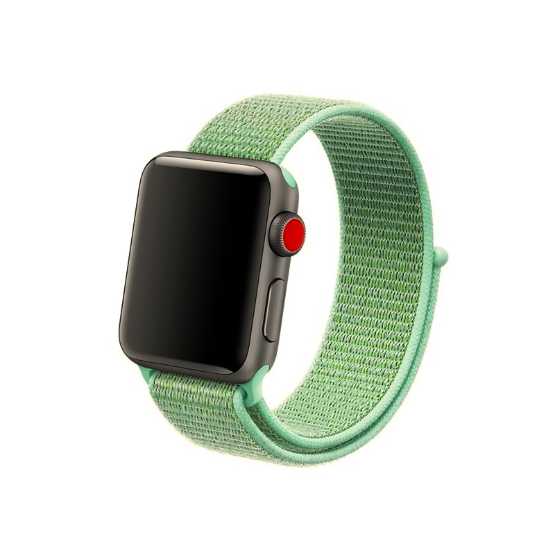 Remienok Apple Watch Nylon Marine Green