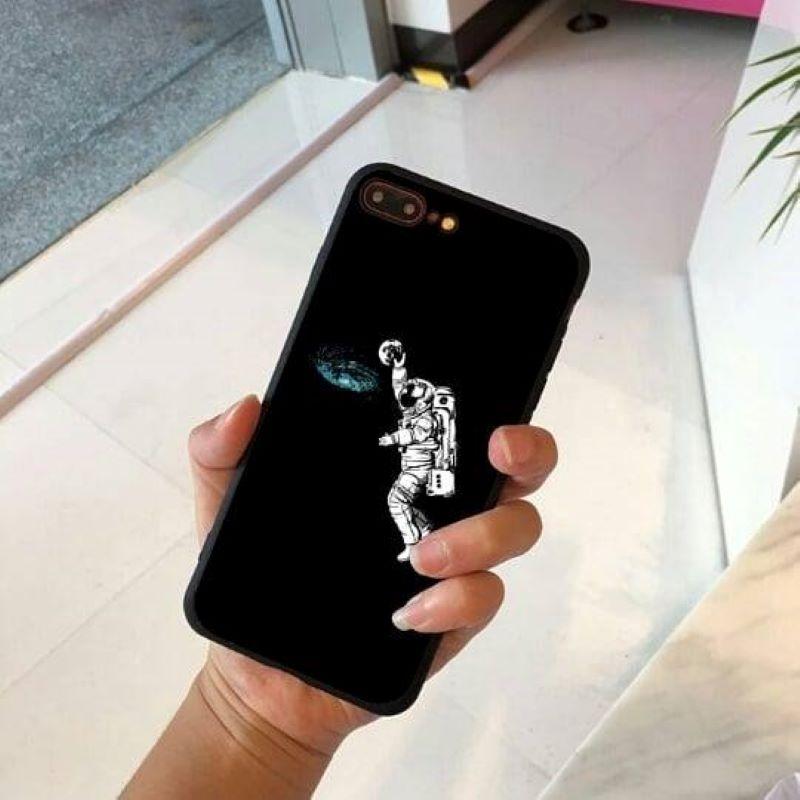 Silikónový kryt na iPhone 7/8 Plus Astronaut