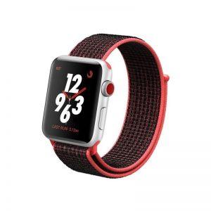 Apple Watch 38mm/40mm Nylon Black Red
