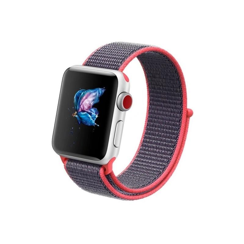 Apple Watch 38mm/40mm Nylon Electric Pink
