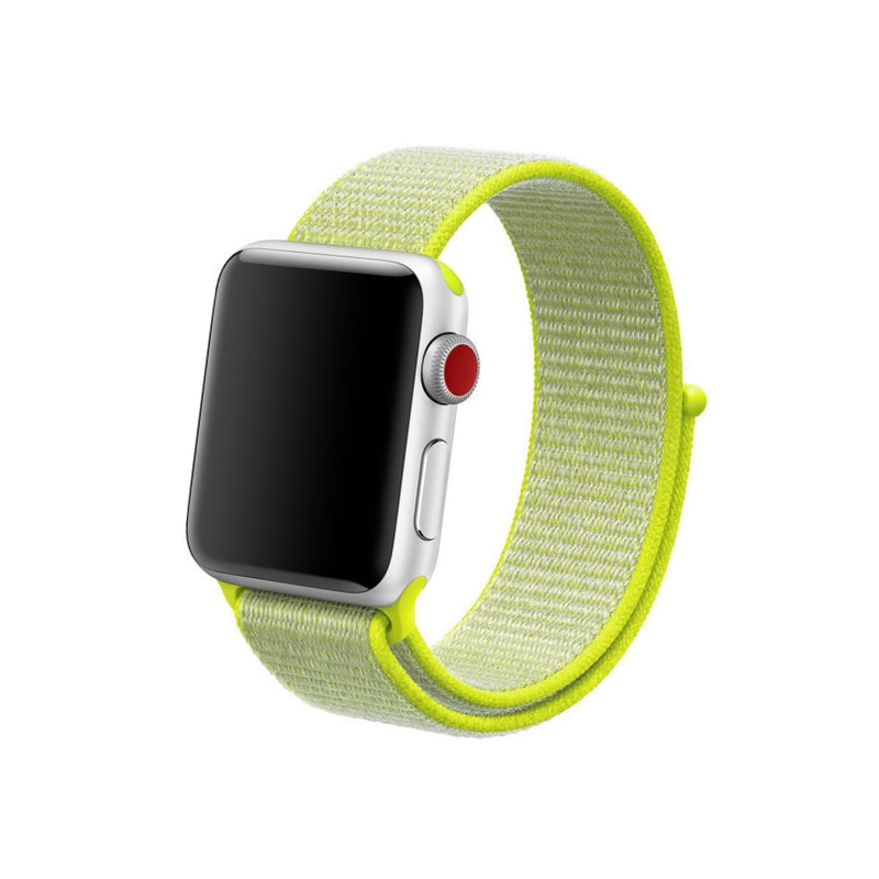 Apple Watch 38mm/40mm Nylon Flash Yellow