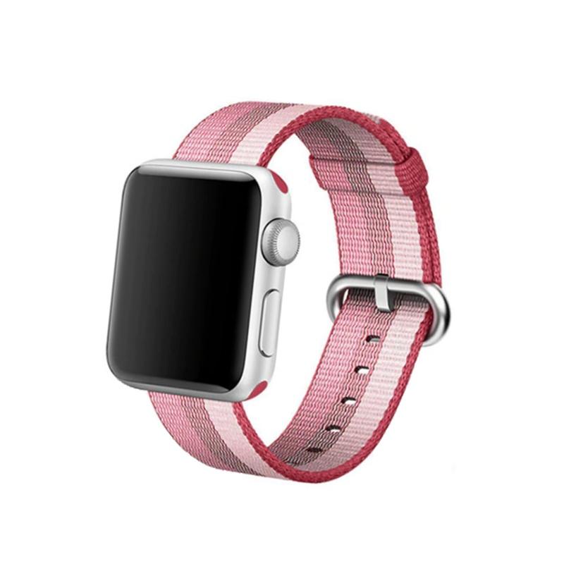 Apple Watch 38mm/40mm Nylon Pink Strip