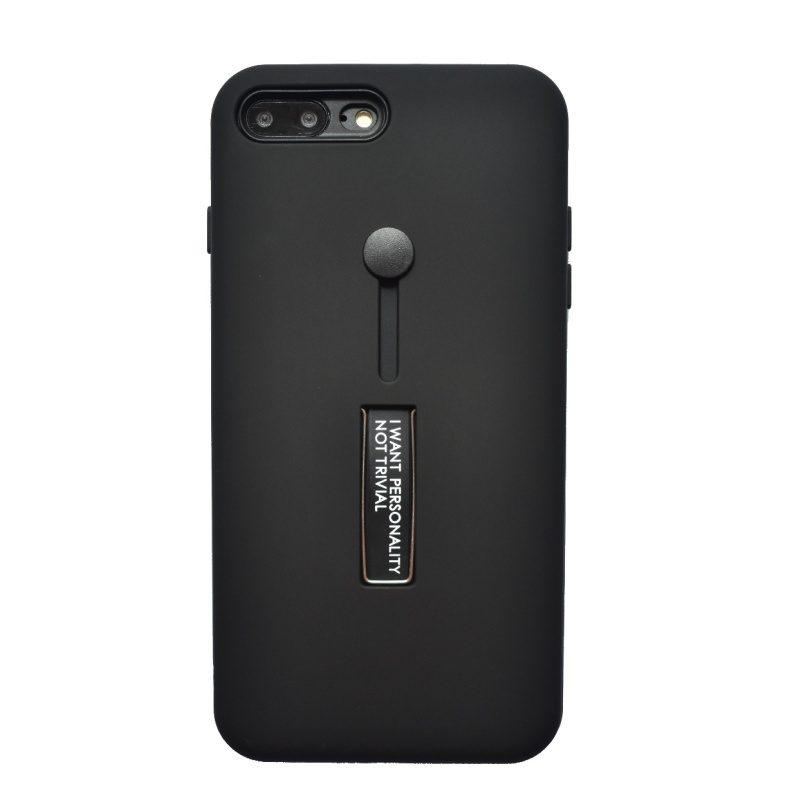 Apple iPhone 7/8 Plus silikónový kryt I want Black
