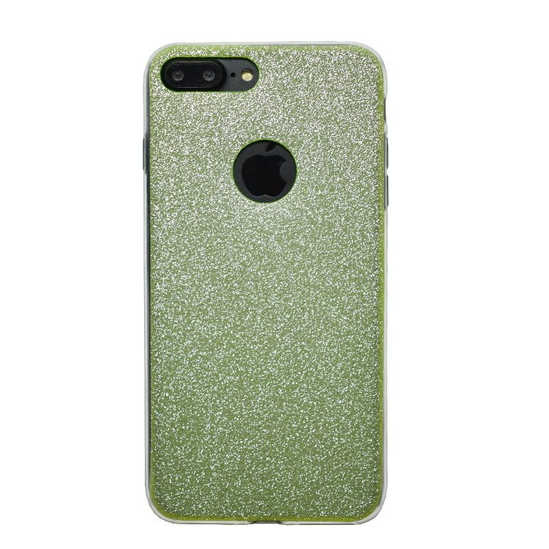 Apple iPhone 7/8 Plus silikónový kryt Green Sparkling