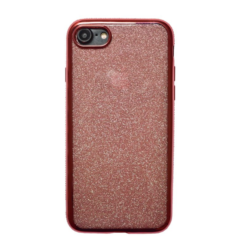 Apple iPhone 78 silikónový kryt Rose Gold