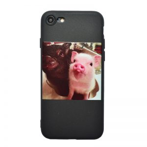 Apple iPhone 7/8 silikónový kryt Pigs