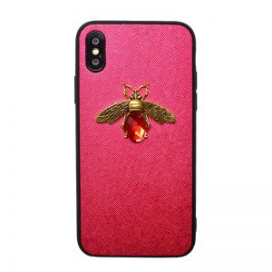 Apple iPhone X/XS silikónový kryt Red Animal