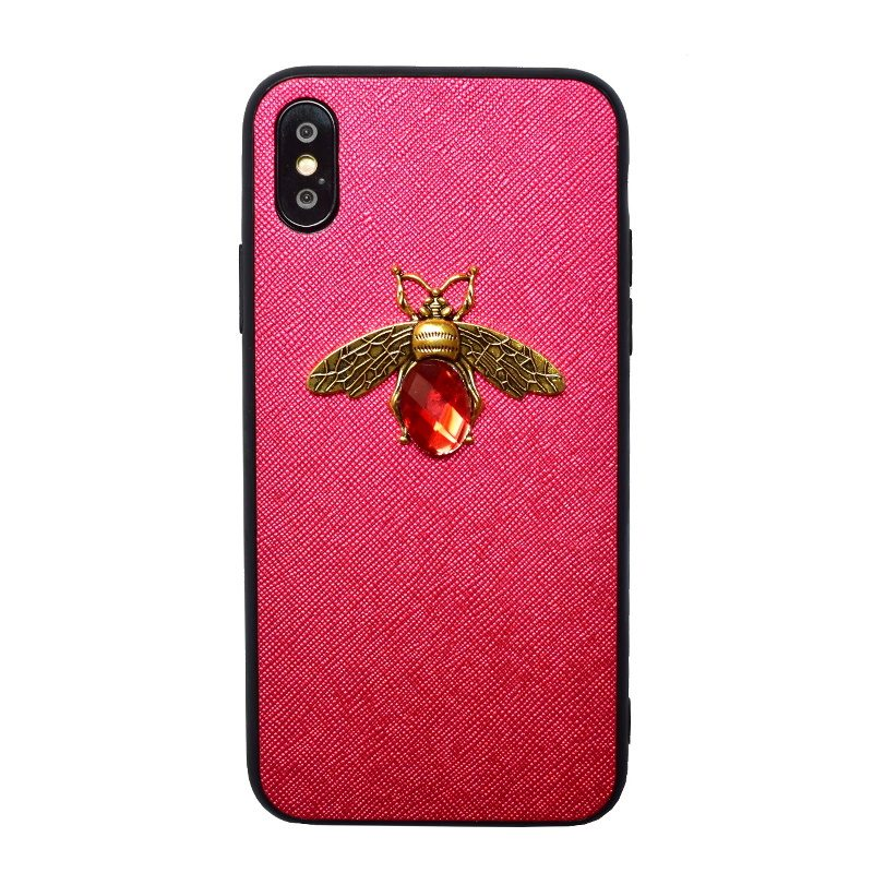 Apple iPhone X/XS silikónový kryt Red Animal