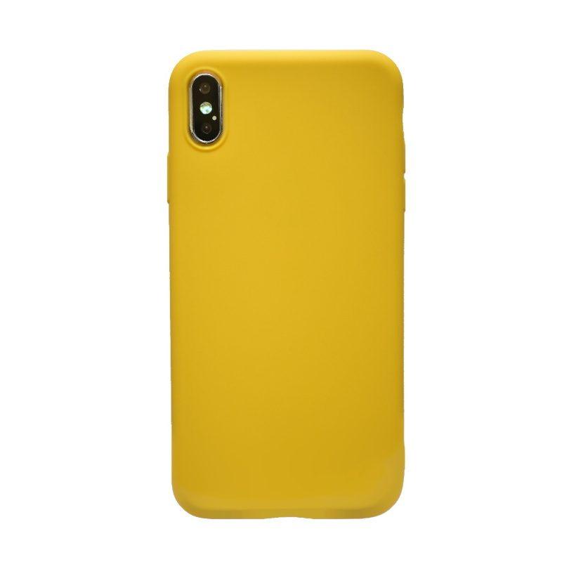 Apple iPhone XS Max silikónový kryt Yellow