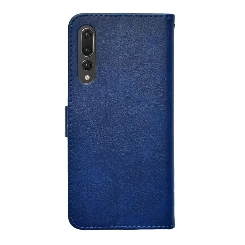Huawei P20 Pro ochranné flip puzdro Navy Blue