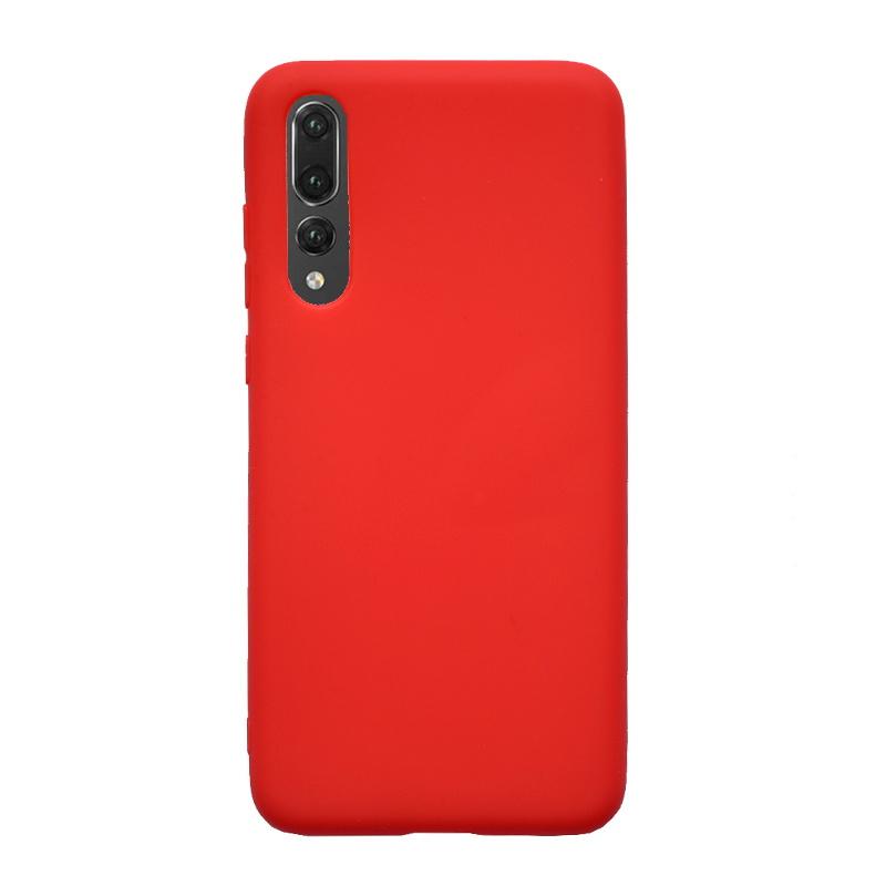 Huawei P20 Pro silikónový kryt Light Red