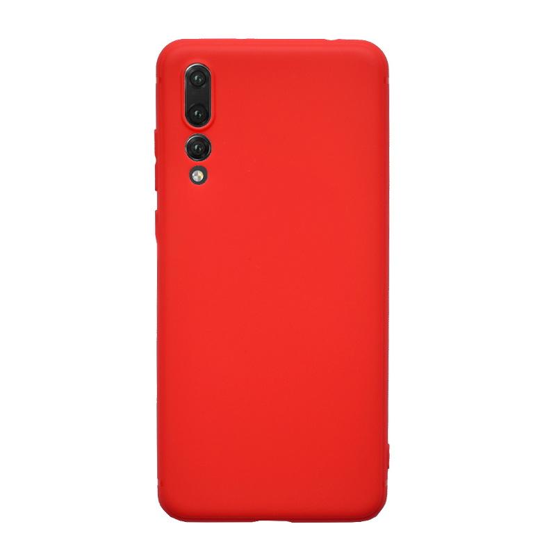 Huawei P20 Pro silikónový kryt Red
