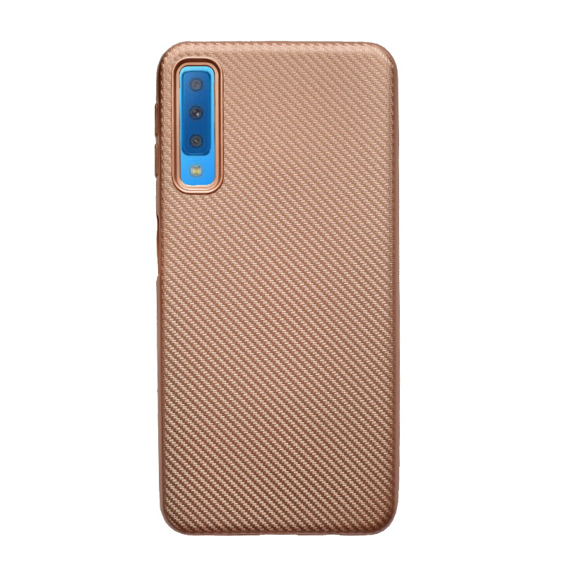 Samsung Galaxy A7 2018 silikónový kryt Rose Gold