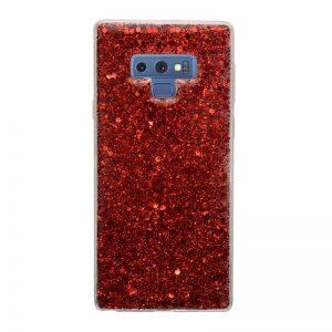 Samsung Galaxy Note 9 silikónový kryt Sparkling Red
