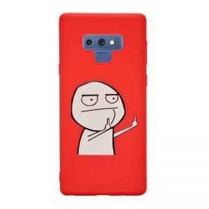 Samsung Galaxy Note 9 silikónový kryt White Guy