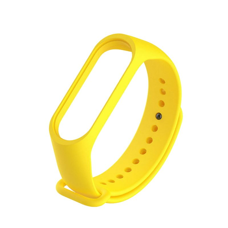Xiaomi Mi Band 3 silikónový remienok žltý