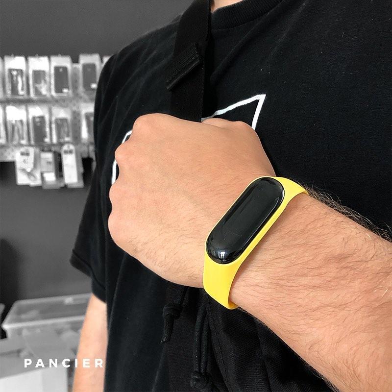 Remienok na Xiaomi Mi Band 3/4 Silikónový Žltý