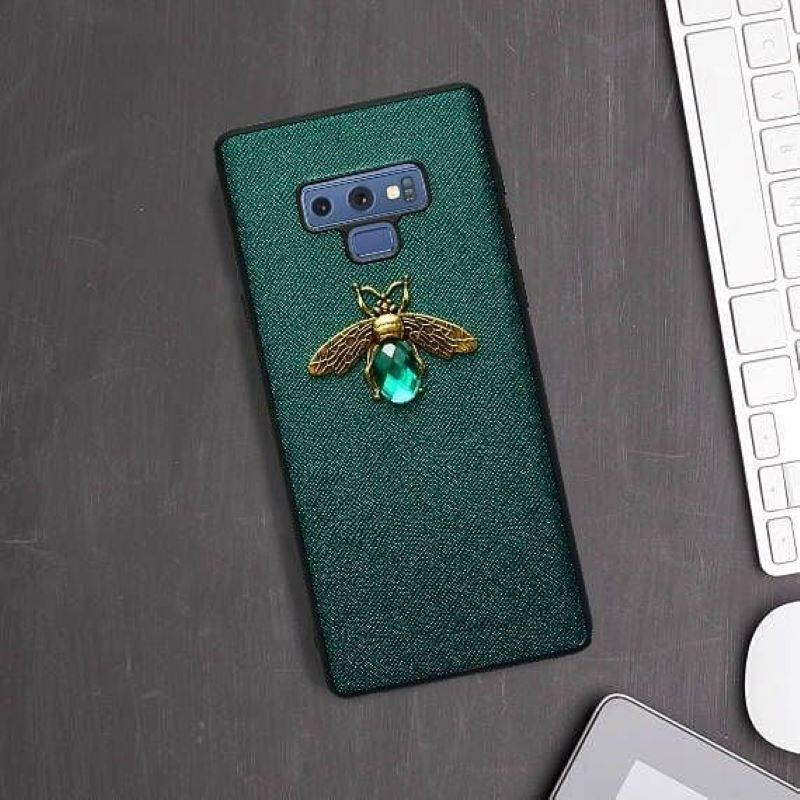 Silikónový kryt na Samsung Galaxy Note 9 Green Animal