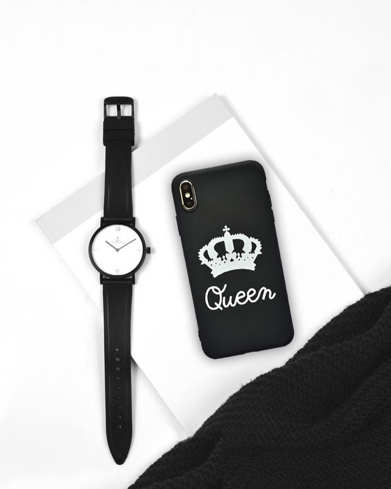Silikónový kryt na iPhone XS Max Queen
