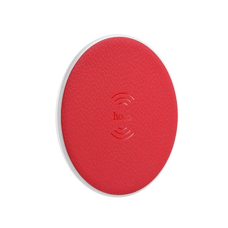 HOCO CW14 bezdrôtová nabíjačka - červená