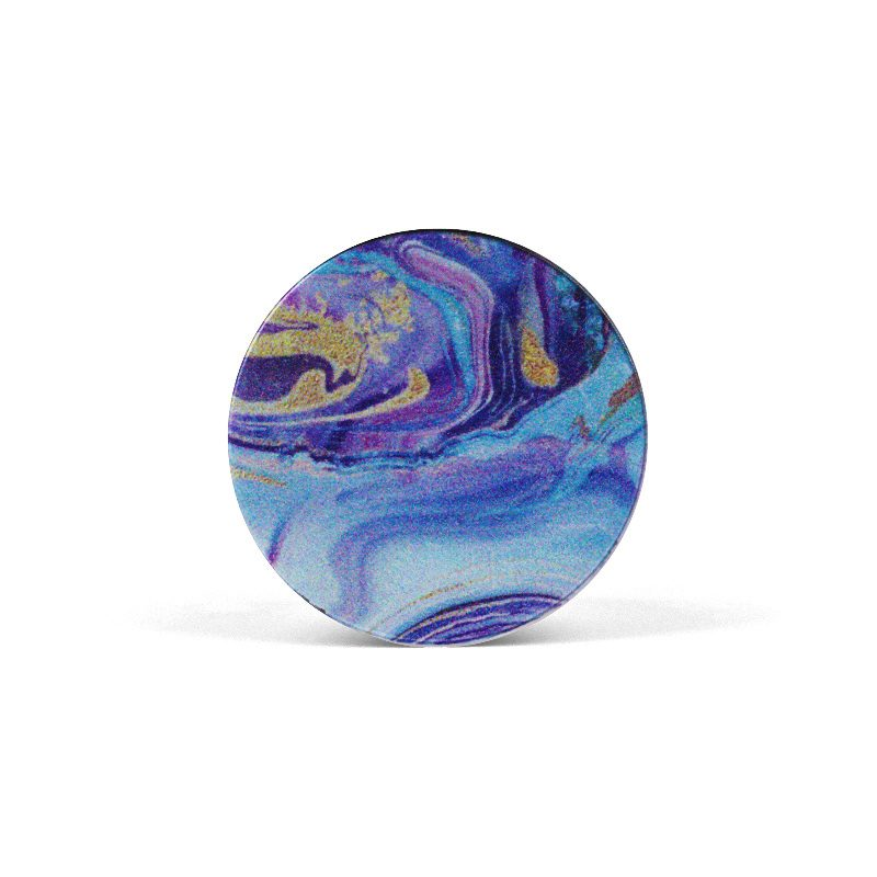 PopSocket Blue Art