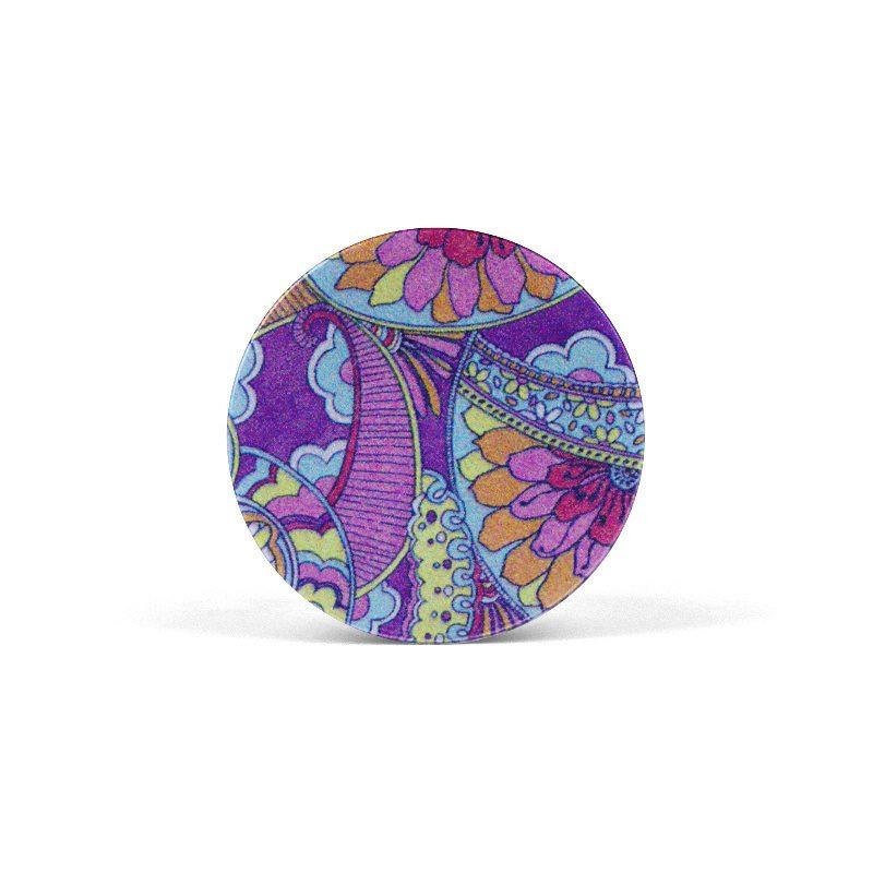 PopSocket Purple Flowers