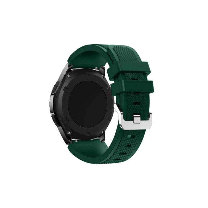 Remienok silikónový 22mm L Zelený