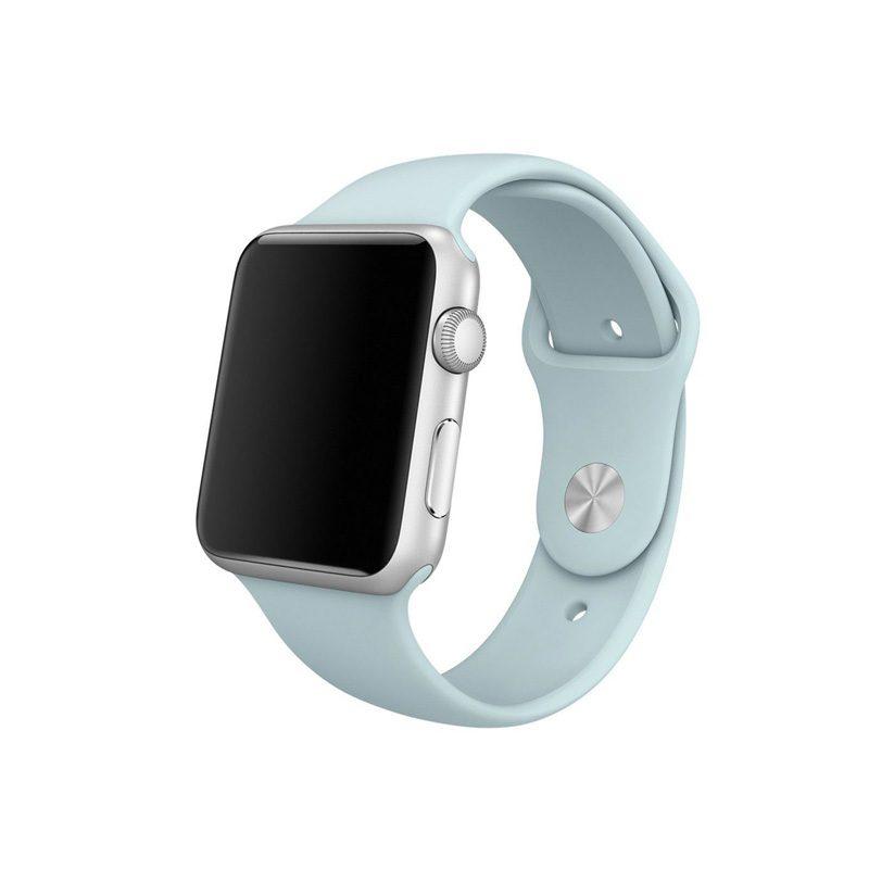 Remienok na Apple Watch 38mm/40mm silikónový Mint