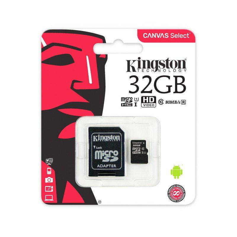 Kingston microSDHC 32GB UHS-I U1