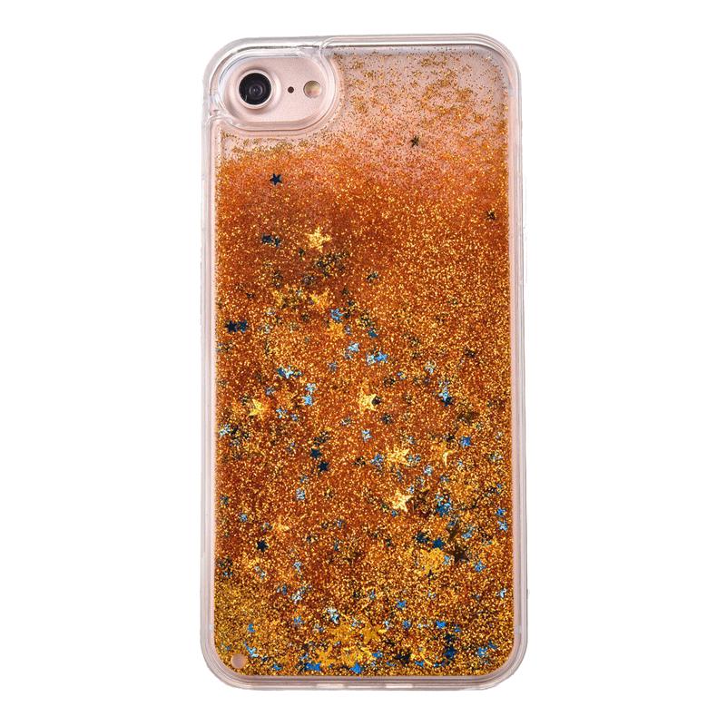 Apple iPhone 5/5S/SE plastový kryt Orange Liquid