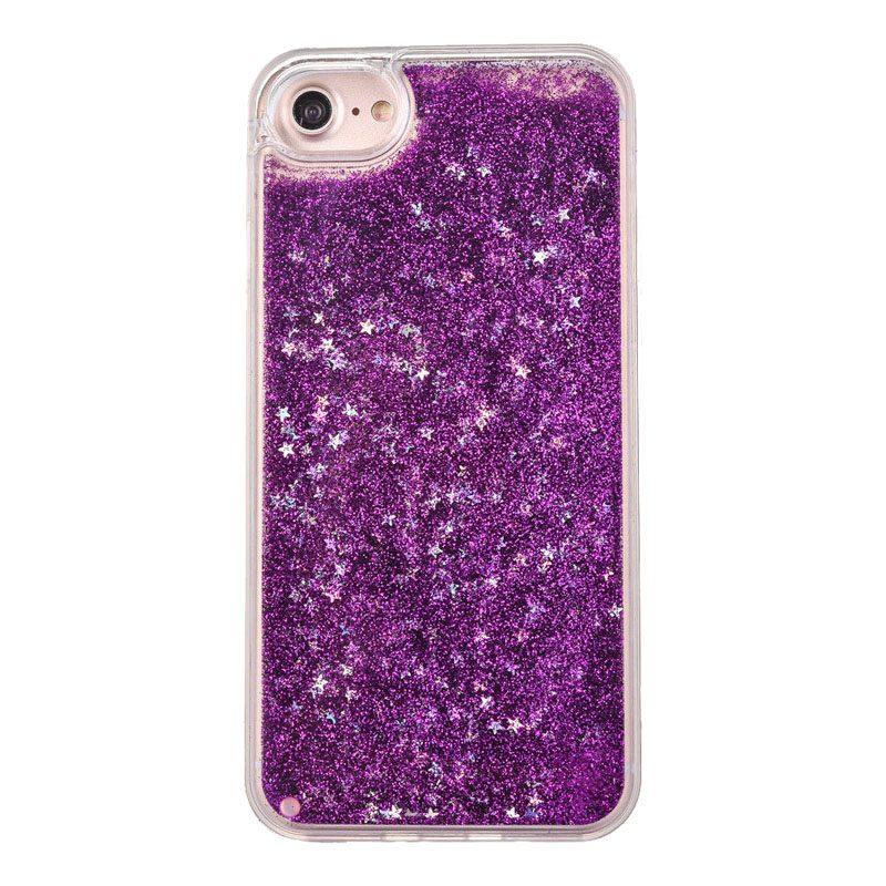 Plastový kryt na iPhone 5/5S/SE Purple Liquid