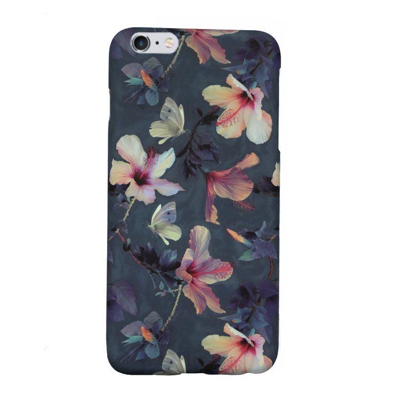 Apple iPhone 6 Plus/6S Plus plastový kryt Flowers 1