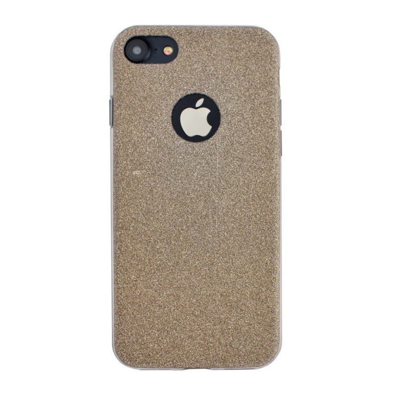 Silikónový kryt na iPhone 6 Plus/6S Plus Gold Sparkling