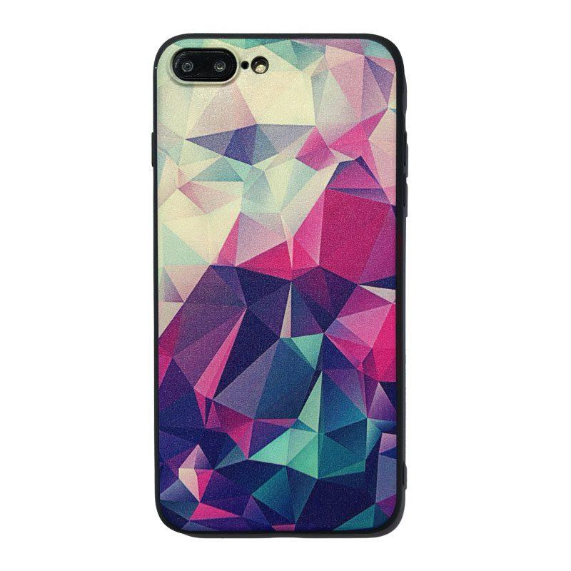 Silikónový kryt na iPhone 7/8 Plus Geometric