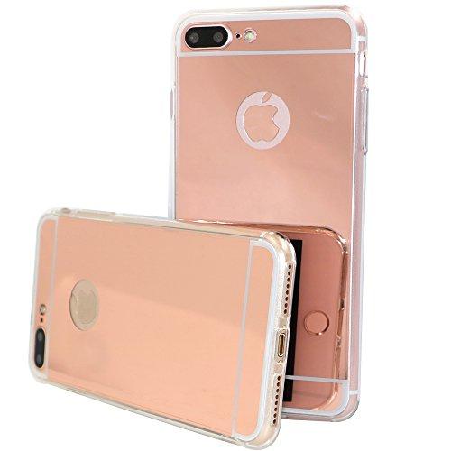 Silikónový kryt na  iPhone 7/8 Plus Rose Gold