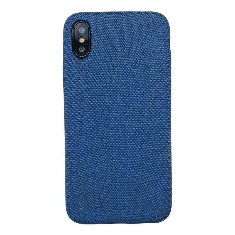 Plastový kryt na iPhone X/XS Blue Texture