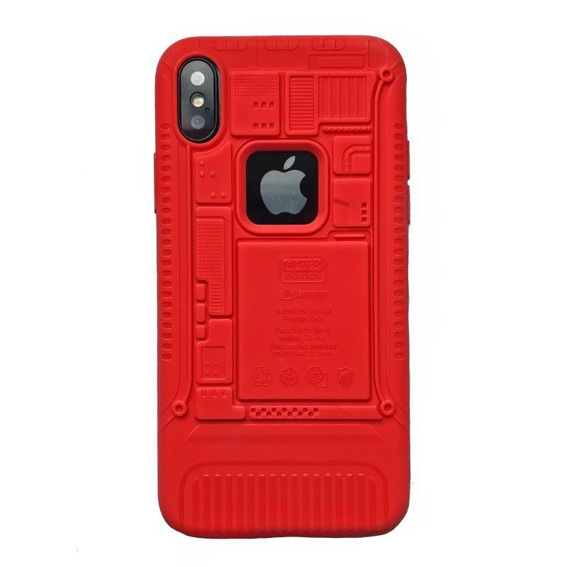 Silikónový kryt na iPhone X/XS Red