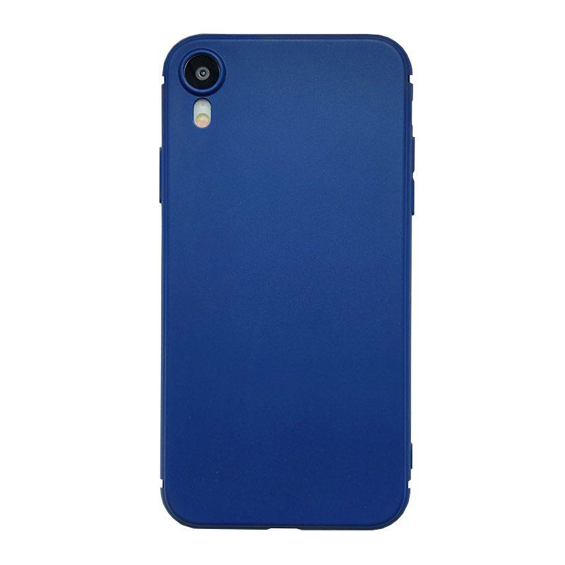 Silikónový kryt na iPhone XR Dark Blue