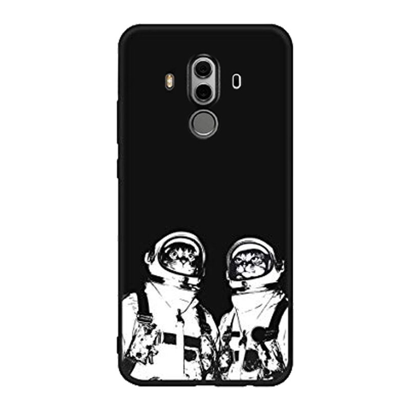 Silikónový kryt na Huawei Mate 10 Pro Cosmonaut Cats