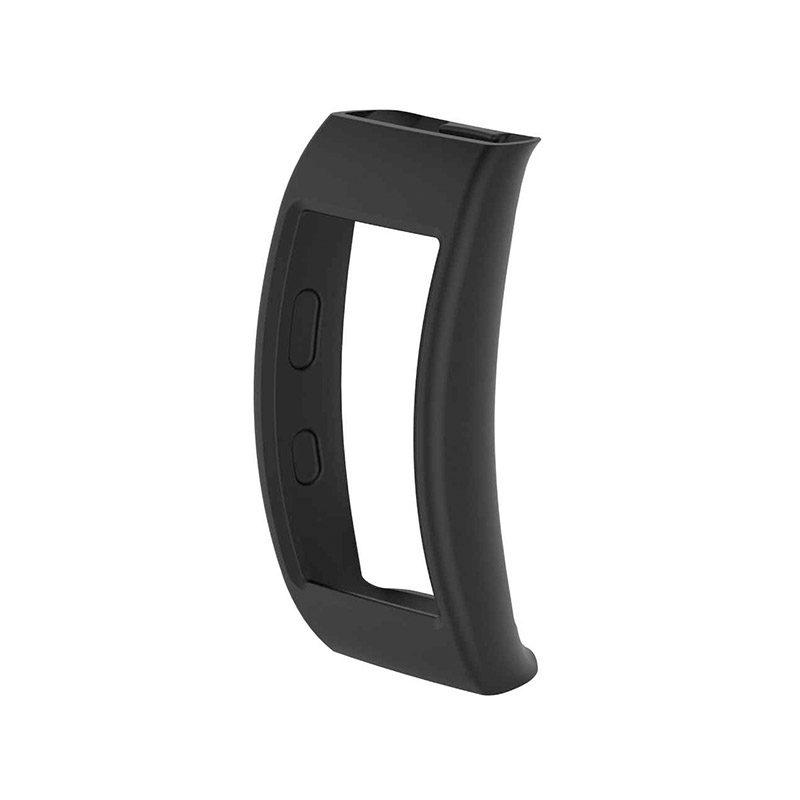 Gumený obal na Samsung Gear Fit 2 čierny