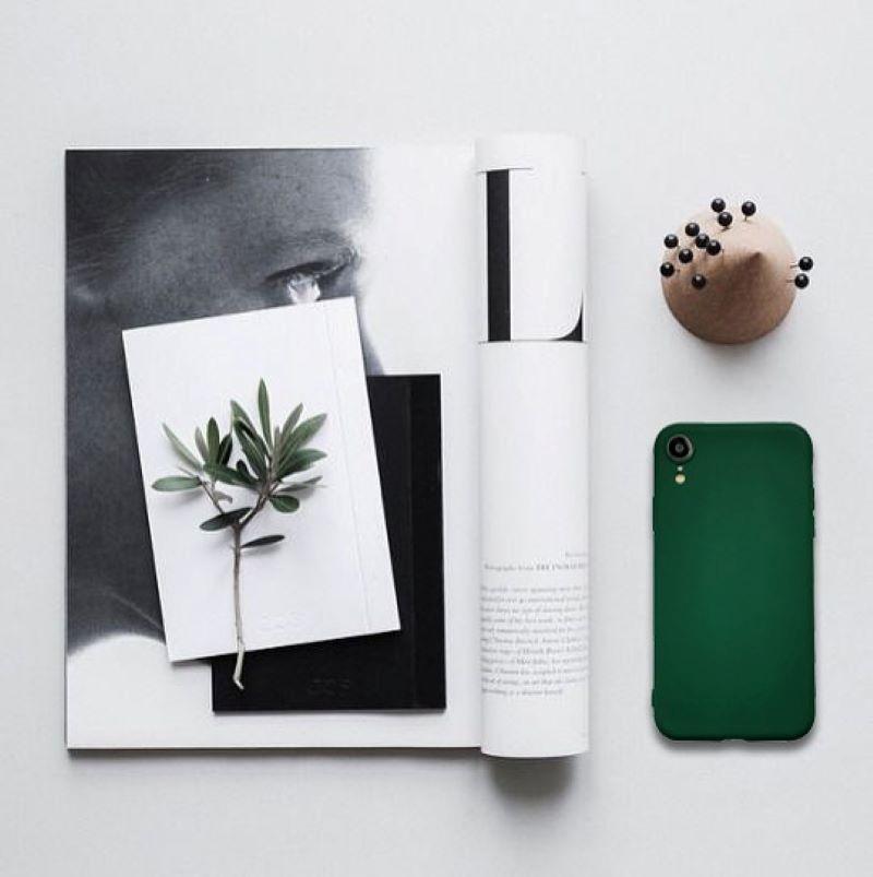 Silikónový kryt na iPhone XR Dark Green