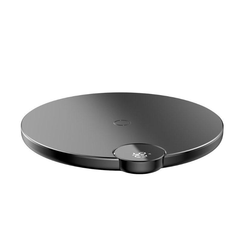 BASEUS Qi bezdrôtová nabíjačka pre Apple iPhone čierna