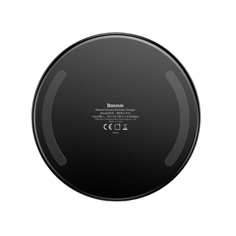 BASEUS transparentná bezdrôtová nabíjačka pre Apple iPhone