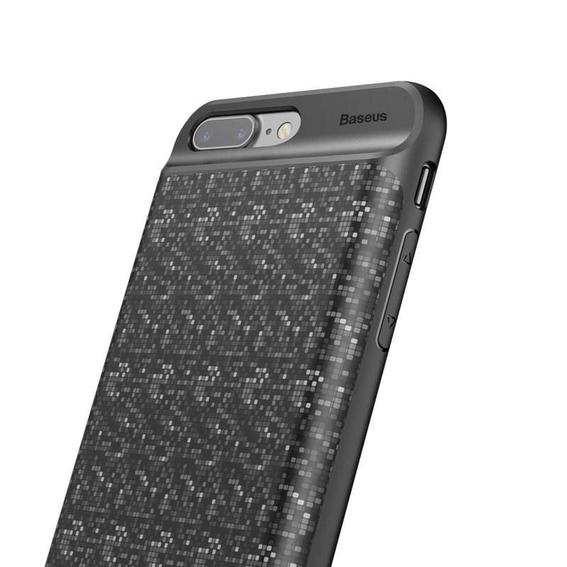 Baseus kryt s batériou 3650mAh pre Apple iPhone 7/8 Plus Black